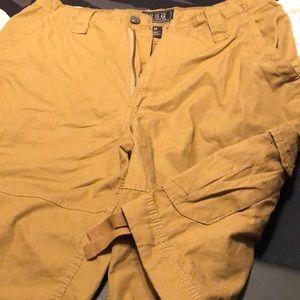 Size 34 Khaki Cargo Shorts
